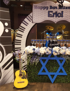 Music Theme Bar Mitzvah